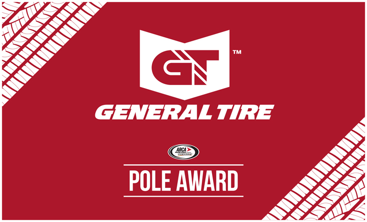 timed session qualifying to set general tire 150 field for arca s rh generaltire com Goodyear Tires Logo general tire logansport in