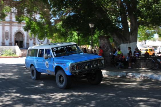 Ripping through San Ignacio on Day 2 actually cost the BFI crew, but it's hard not to when the cops (and everyone else in town) are literally waving and screaming at you to hit the throttle and go faster. All participating race vehicles had trackers that let NORRA official monitor the action, and speeding through speed limited zones like towns can cost you lots of time penalties.