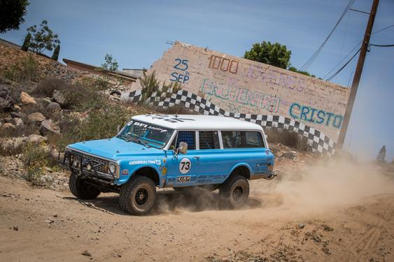 Racing through Baja takes you through absolute wilderness back into towns, over windy mountain passes, and onto miles of pavement highways. It's a race that has a bit of everything and tours you through some good examples of what Baja California has to offer.