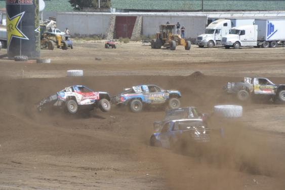 The Pro 2 racing would kick off the day on Sunday, and it was clear that the track was in better condition for racing, and that the drivers were more familiar with it.