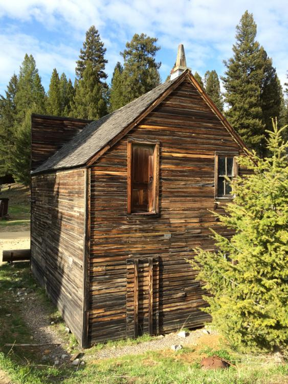 Ever wonder why some old western buildings have doors to nothing on the second story? It was common for traveler's lodgings to be on the second floor of working establishments in town, and the second-story door was to load and unload the luggage off the top of the stagecoach!