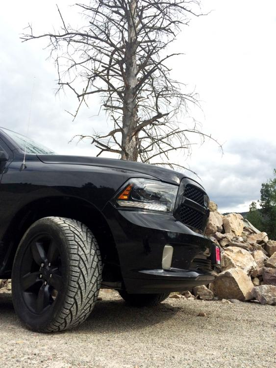 Some 295/50R20s were about 32 inches tall and 12 inches wide and fit great on our new Ram. Ideally, we would've preferred a wheel that was one inch wider than the stock wheels, but they still looked good and did not crown.