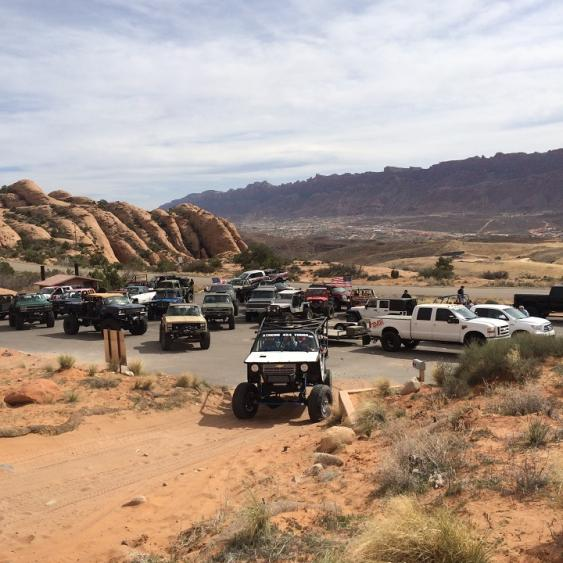 Moab Is One Big Beautiful Terrain Park For 4x4s, And We Plan To Be There  Joining In The Annual Easter Jeep Safariu0027s Festivities From Now On!